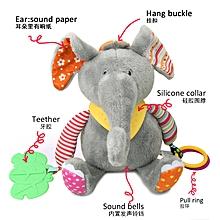 Elephant Baby& Toddler Plush Toy Developmental Interactive