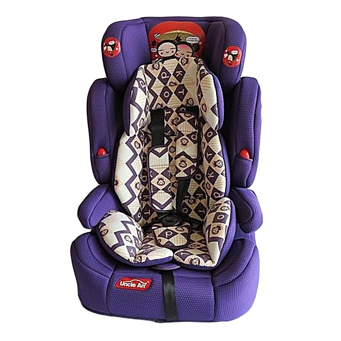 Purple Baby Car Seat Cover Velcromag