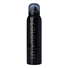 Black Body Spray For Men – 150ml