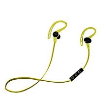 Wireless Bluetooth headphone, Wireless Bluetooth In-Ear Headphones (Yellow)