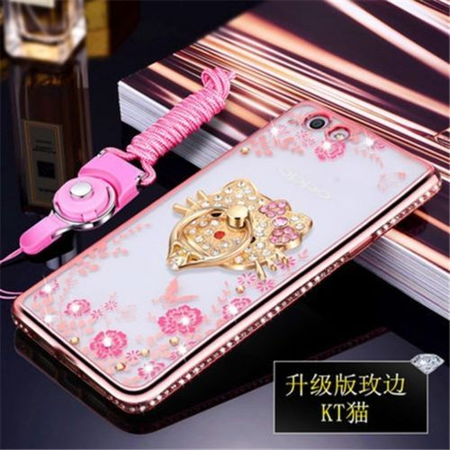 Secret Garden Diamond Tpu Back Case Cover For Oppo A37kt Cat Gold Source · BYT Micro