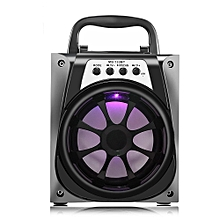 MS - 133BT Bluetooth Portable Speaker with LED Lights 4 inch Driver Unit