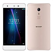 SHARP Z2 5.5 Inch 4GB RAM 32GB ROM Helio X20 MTK6797 2.3GHz Deca Core 4G Smartphone Gold