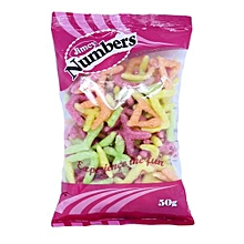 Jimcy Numbers, 50g