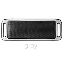 S816 Mini Wireless Smart Metal Portable Bluetooth Speaker Handfree Stereo Speakers For PC Laptop Iphone Smartphone(Grey)
