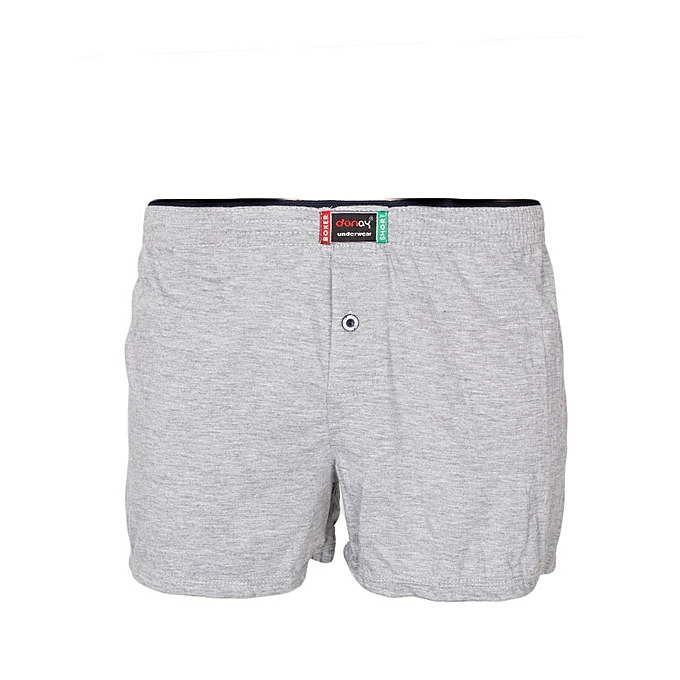 Light Grey Cotton Boxers