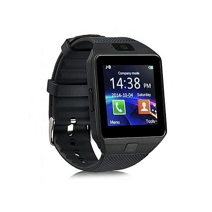 Smart DZ09 Smart Watch Phone for Android and Apple - Black