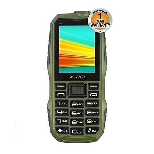 S22 - 10000mAh Universal Powerbank Phone - Green