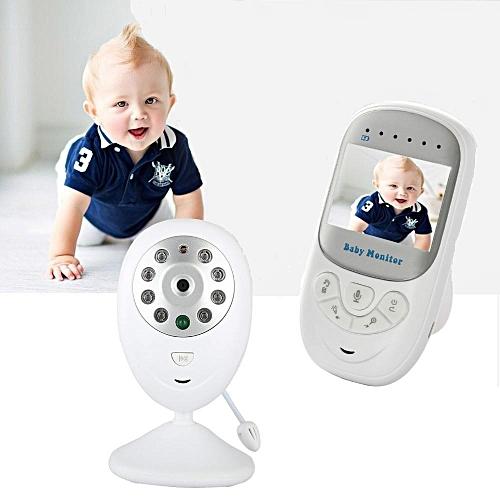 2.4GHz Wireless Baby Monitor Infant Radio Babysitter Digital Video Camera Sleeping Baby Monitor Night Vision Temperature Display Radio Nanny