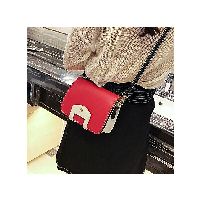 Olivarenwomen Messenger Bag Clutch Bags Good Shoulder Handbags Crossbody Rdred