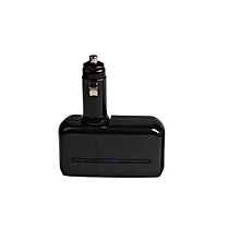 1 to 2 Sockets Cigarette Lighter Splitter Dual USB Car Charger Adapter