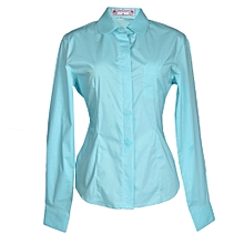 Ladies  Shirt- Aqua Marine
