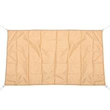 3x1.8m Newly Sun Shade Sail Garden Wearproof Awning Mesh Patio UV Shield Netting Canopy