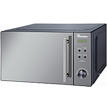 RM/458 - 20 Litres - Digital Glass Microwave - 700W- Silver