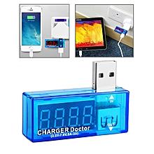 USB Voltage Charge Doctor / Current Tester for Mobile Phones / Tablets(Blue)