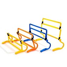 IPRee Removeable Football Training Mini Hurdle Jump Sensitive Soccer Speed Agility Practice Equipment