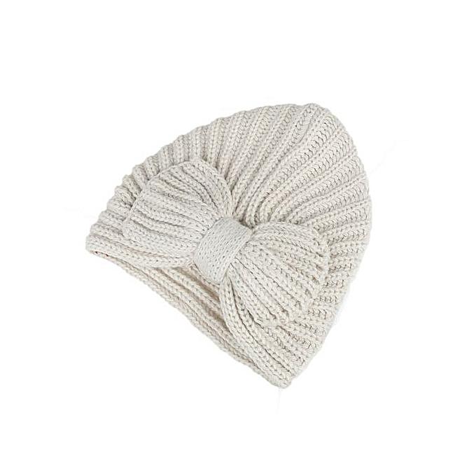 828e8a35e14 Fashion Zetenis Women Bowknot Knitting Cashmere Keep Warm Winter Hat ...