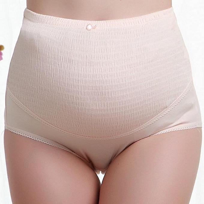 99feaa99d91b6 3pcs/lot Cotton Maternity Underwear High Waist Adjustable Women Pregnant  Belly Care Maternity Panties Briefs