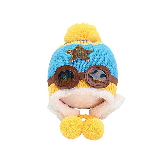 Braveayong Baby Earflap Toddler Girl Boy Kids Pilot Aviator Cap Warm Soft  Beanie Hat SB - d66039564c85