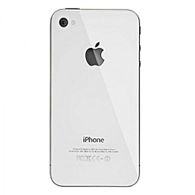 4S Back Cover - Silver