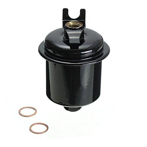 universal fuel filter fits:acura cl el tl integra honda accord civic cr-v del  sol & isuzu