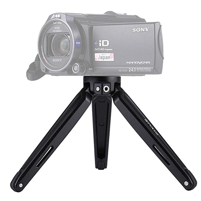 PULUZ PU3014 Pocket Mini Metal Desktop Tripod Mount with Adapter Screw for  DSLR Camera 4 5-15 cm