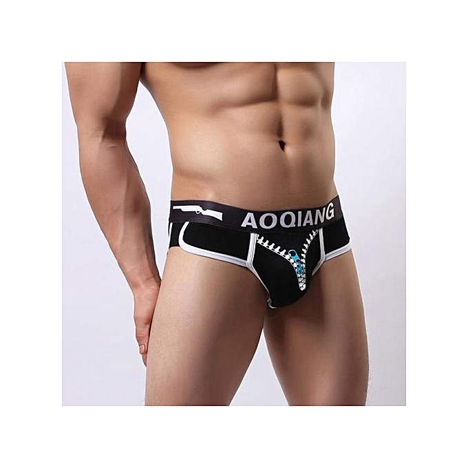 b5a064a012c0 Men's Underwear Intimates Fashion Sexy Mens Breathe Underwear Briefs Bulge  Pouch Shorts Underpants BK L@
