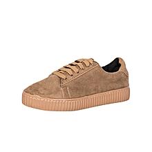 Dark Beige Women's Sneakers
