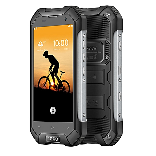 BV6000S Triple-Proofing Phone, 2GB+16GB, IP68 Waterproof Dustproof Shockproof, 4.7 inch Android 7.0 MTK6737T Quad-core 1.5GHz, Network: 4G(Black)