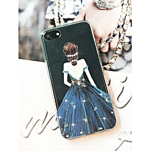 iPhone 8/8 Plus 7/7 Plus/6/6S/6 Plus/6S Plus Phone Case Princess Rhinestones Cover____IPHONE 8 PLUS____blue