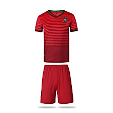 Portugal National Team Jersey And Shorts For Women (White)