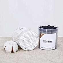 Xiaomi SIM FUN 200Pcs/Box Cotton Swab Cotton Buds Cleaning Stick Ear Makeup Wood Sticks