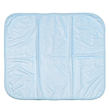 Blue/Pink/Yellow 50*60/60*70/60*90/70*120/100*140/100*200/120*200cm Absorbent Bamboo Fiber Isolation Pads Elderly Care Mattress (60*70cm)