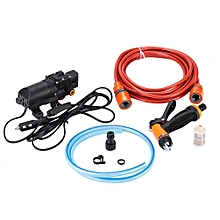 High Pressure Pump Car Washer Pump Durable 130PSI DC 12V Washer Spray Car Cleaner Pump Sprayer Kit Tool Nozzle