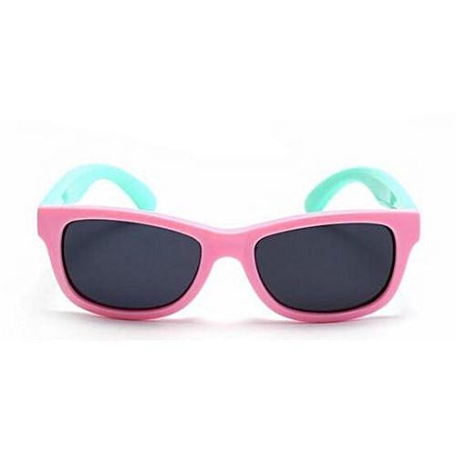 0e2042d57f4a Fashion Infant Children Sunglasses TAC Polarized Goggle Kids Sunglasses  Baby Safety Coating Glasses Sun UV 400 Protection Shades(Pink)
