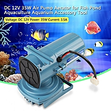 DC 12V 35W Air Pump Aerator For Fish Pond Aquaculture Aquarium Accessory Tool
