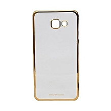 Samsung Galaxy J5 -Prime Noble Back Cover - Clear & Gold sided