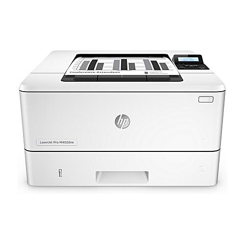 e5ea8c576ae7 HP HP LaserJet Pro M402dne Black & White Duplex Network Printer ...
