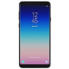 "Galaxy A8 (2018) 5.6"", 4GB,64GB ROM, 16MP  REAR CAMERA 8MP DUAL FRONT CAMERA Dual SIM 4G- BLACK"