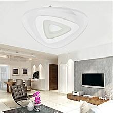 12W Modern Ultrathin LED Lamp Flush Mount Ceiling Light Mango 3-Color Adjustable White