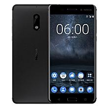 6 5.5-Inch IPS (3GB, 32GB ROM) Android 7.1 Nougat, 16MP + 8MP Hybrid Dual SIM LTE Smartphone - Black