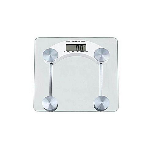 Digital Glass Bathroom Scale .