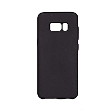 SAMSUNG S8 SILICON COVER,silky and soft touch finish,black