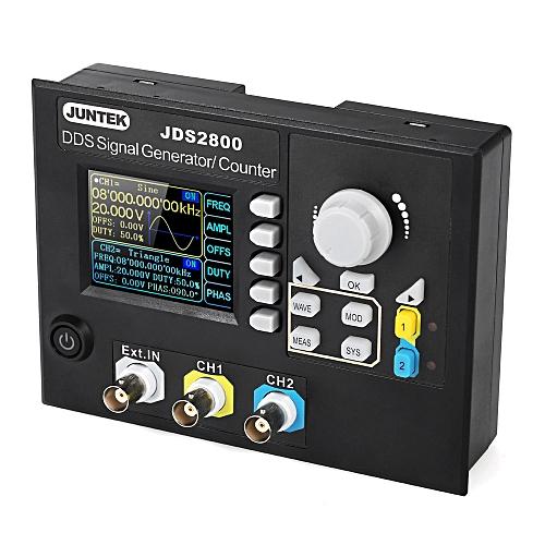 JUNTEK Signal Generator Digital Control Dual-channel DDS Function Arbitrary  Signal Generator Frequency Meter 40MHz 266MSa/s