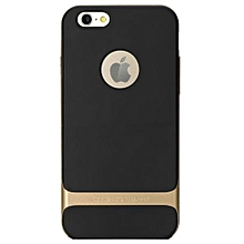 """For IPhone 6 /6s 4.7"""" Inch Case Matching Metallic Sillicon Color Back Cover(Gold)"""