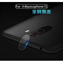 Full HD Clear Camera Lens Tempered Glass Screen Protector For Xiaomi Pocophone F1 324343 Color-0