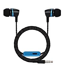 Hiamok_3.5mm With Microphone Bass Stereo In-Ear Earphones Headphones Headset Earbuds