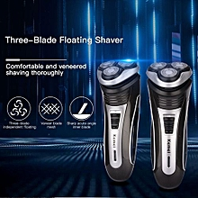 Men Triple Floating Blade Heads Rechargeable Electric Shaver Electric Razors Hair Trimmer