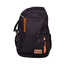 Classy 18 inch Expandable Laptop Back pack -  Black