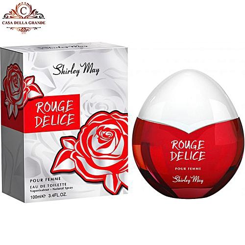 Rouge Delice Pour Femme EDT – 100 ML (3.3 FL.OZ.)